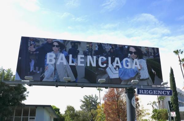 Balenciaga Spring 2018 billboard