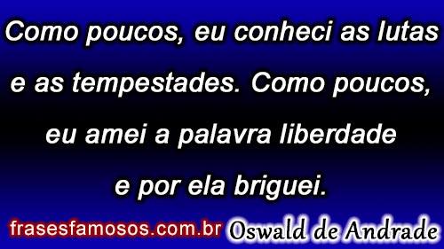 Frases de Oswald de Andrade
