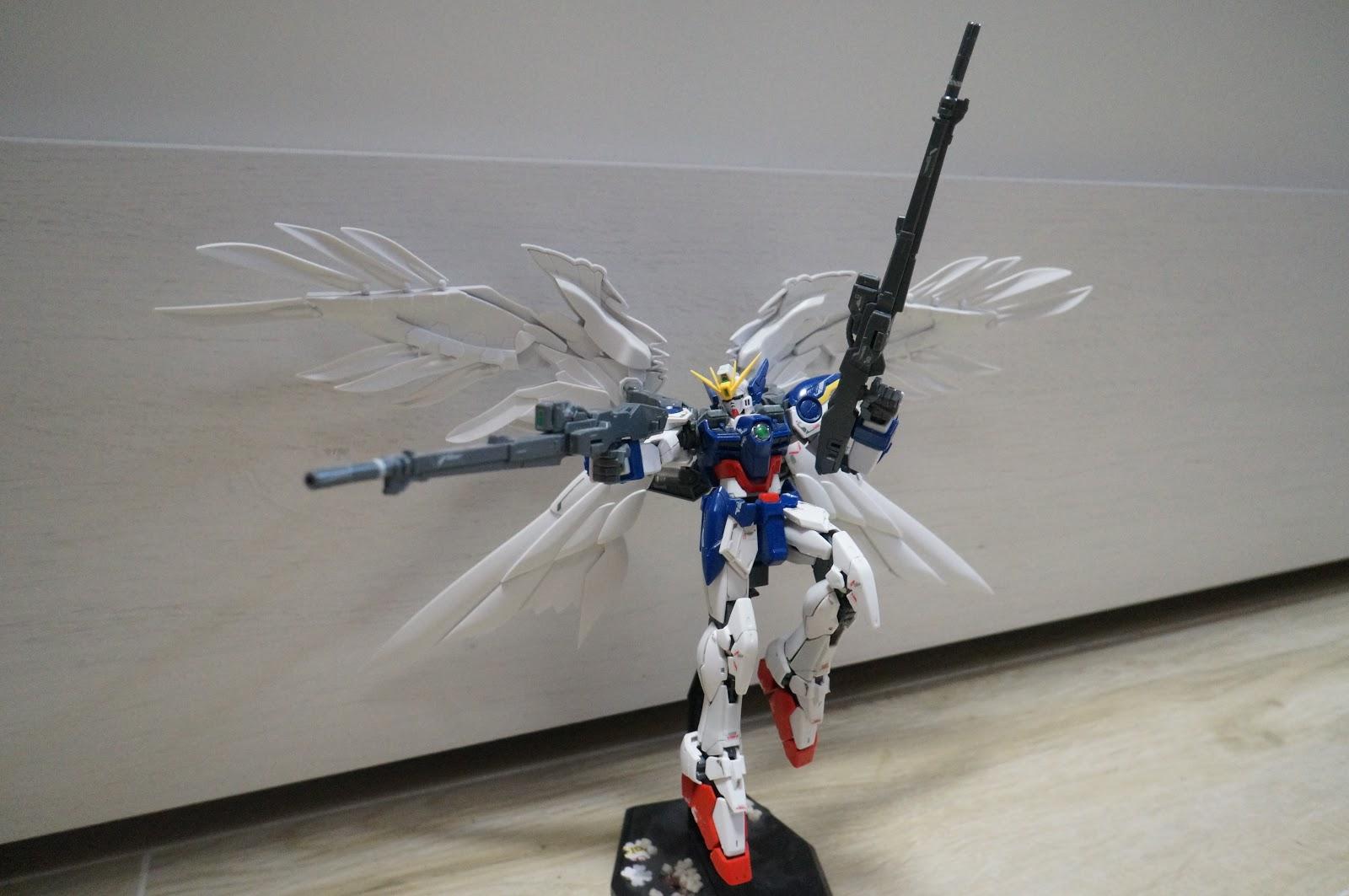 12 Wing Zero Gundam Rg Picture Download