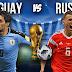 Nhận định bóng đá Uruguay vs Nga, 21h00 ngày 25/06 - World Cup 2018
