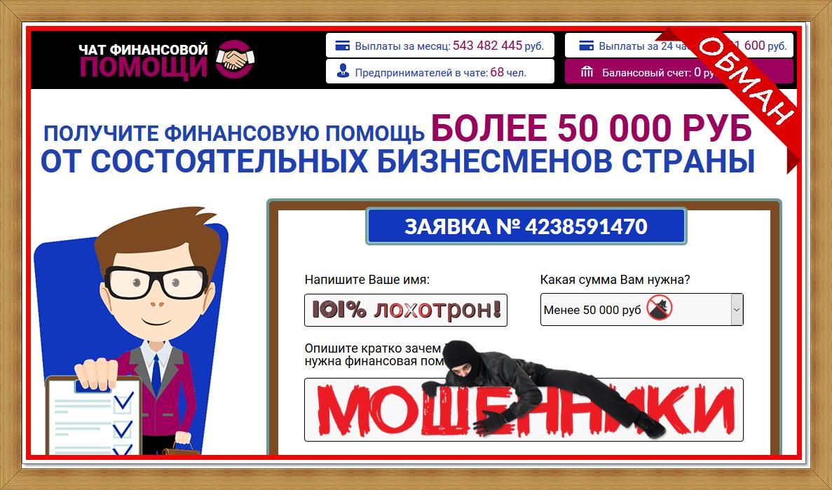 [Лохотрон] ГРУППА ФИНАНСОВОЙ ПОМОЩИ chatmoneys.site Отзывы, развод на деньги!