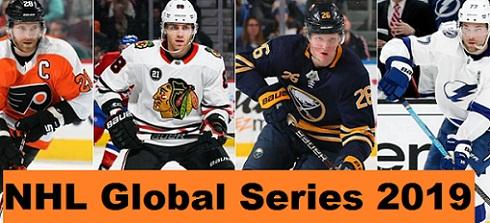 Flyers in Czech Republic, Lightning in Sweden, 2019 NHL Global Series schedule confirmed