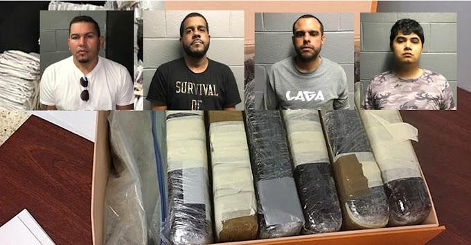 Arrestan dominicanos y mexicano con heroína y fentanilo valorados en US$3MM en el área de Central Park