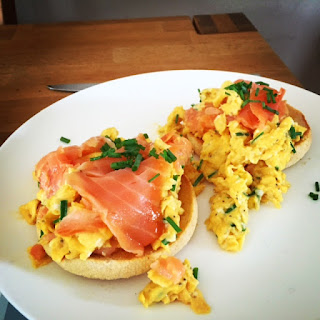 Ultimate Smoked Salmon & Scrambled Eggs