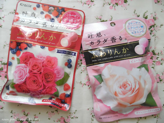 [Review] Kracie Kanebo Fuwarinka Fragranced Candy Rose Pink & Berry Rose Flavor ふわりんかソフトキャンディ