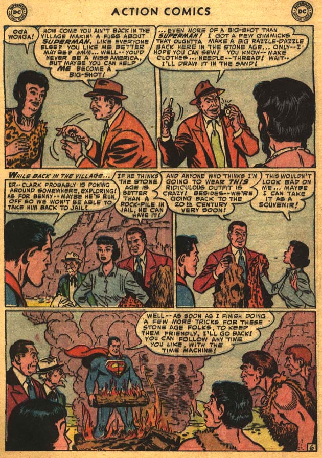 Read online Action Comics (1938) comic -  Issue #201 - 8