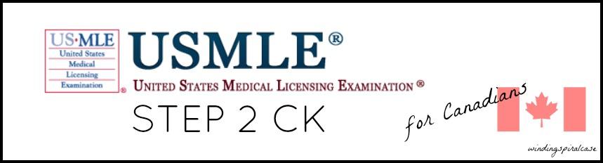 Winding Spiral Case: USMLE Step 2 CK for Canadians