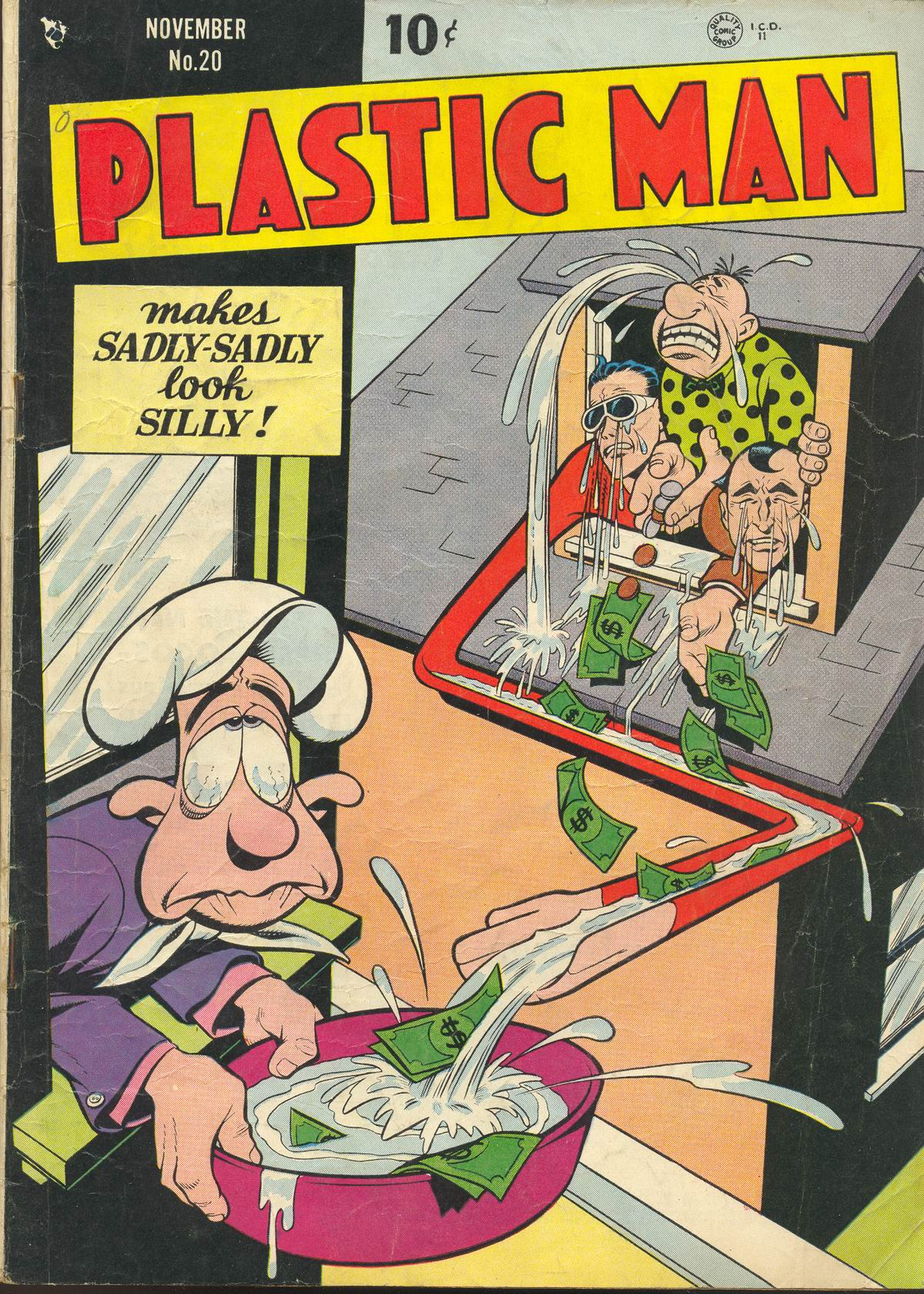 Plastic Man (1943) 20 Page 1