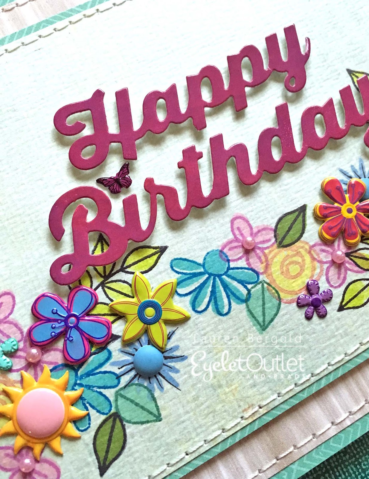 Eyelet Outlet Birthday Blossoms
