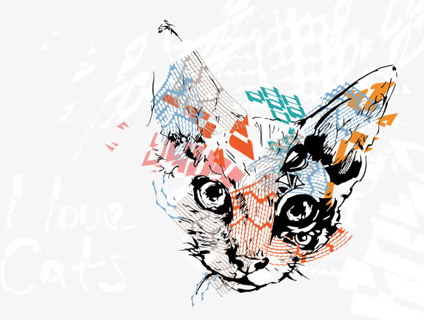 Gato de dibujos animados