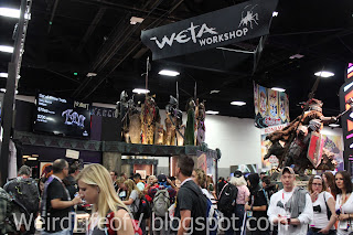 Weta Workshop booth
