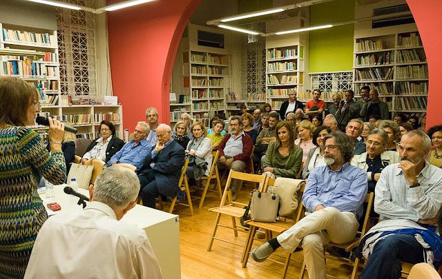 Με έντονο ενδιαφέρον από το κοινό η παρουσίαση του βιβλίου του Κ. Γκότση