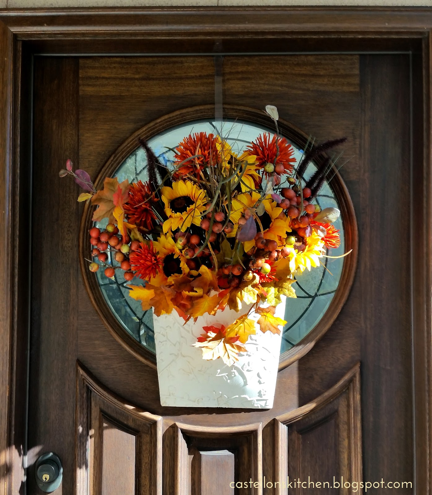 Adventures In Decorating Our 2015 Fall Kitchen: Castellon's Kitchen: Fall Decorating 2015