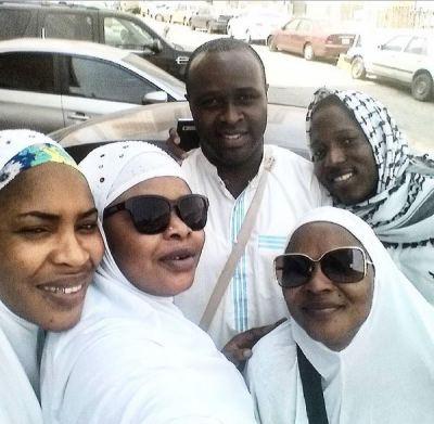 femi adebayo in mecca