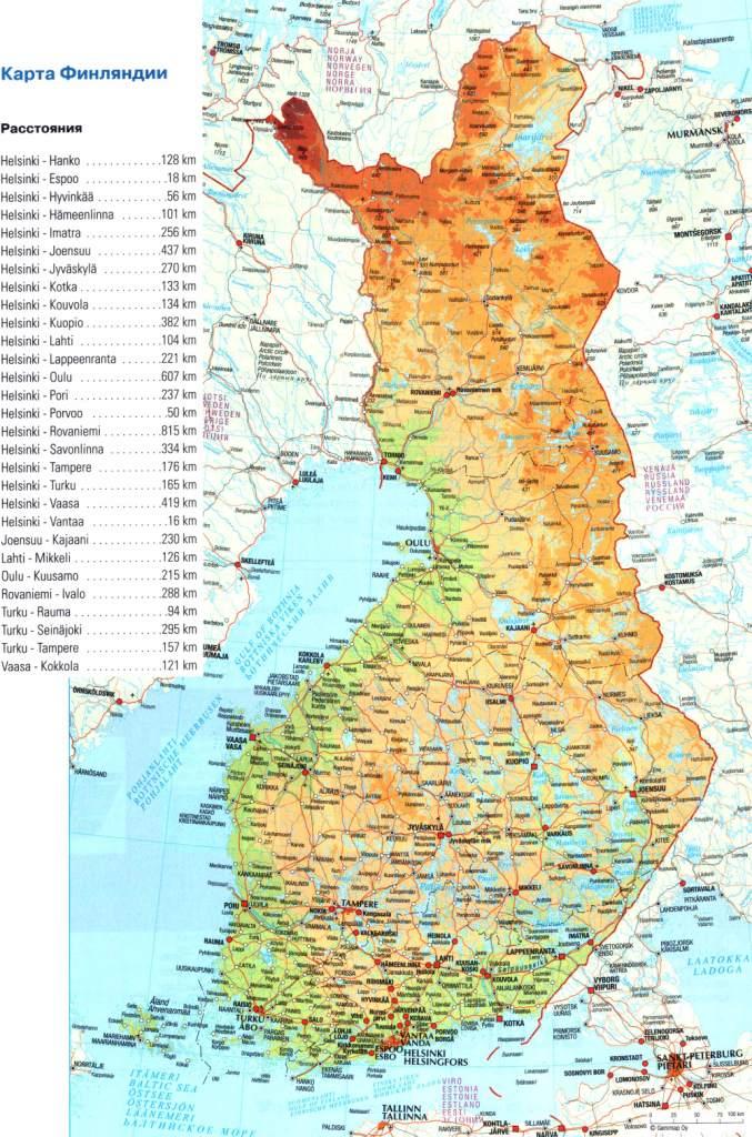Suomen Kartta Alueellinen Kaupunki Suomen Kartta
