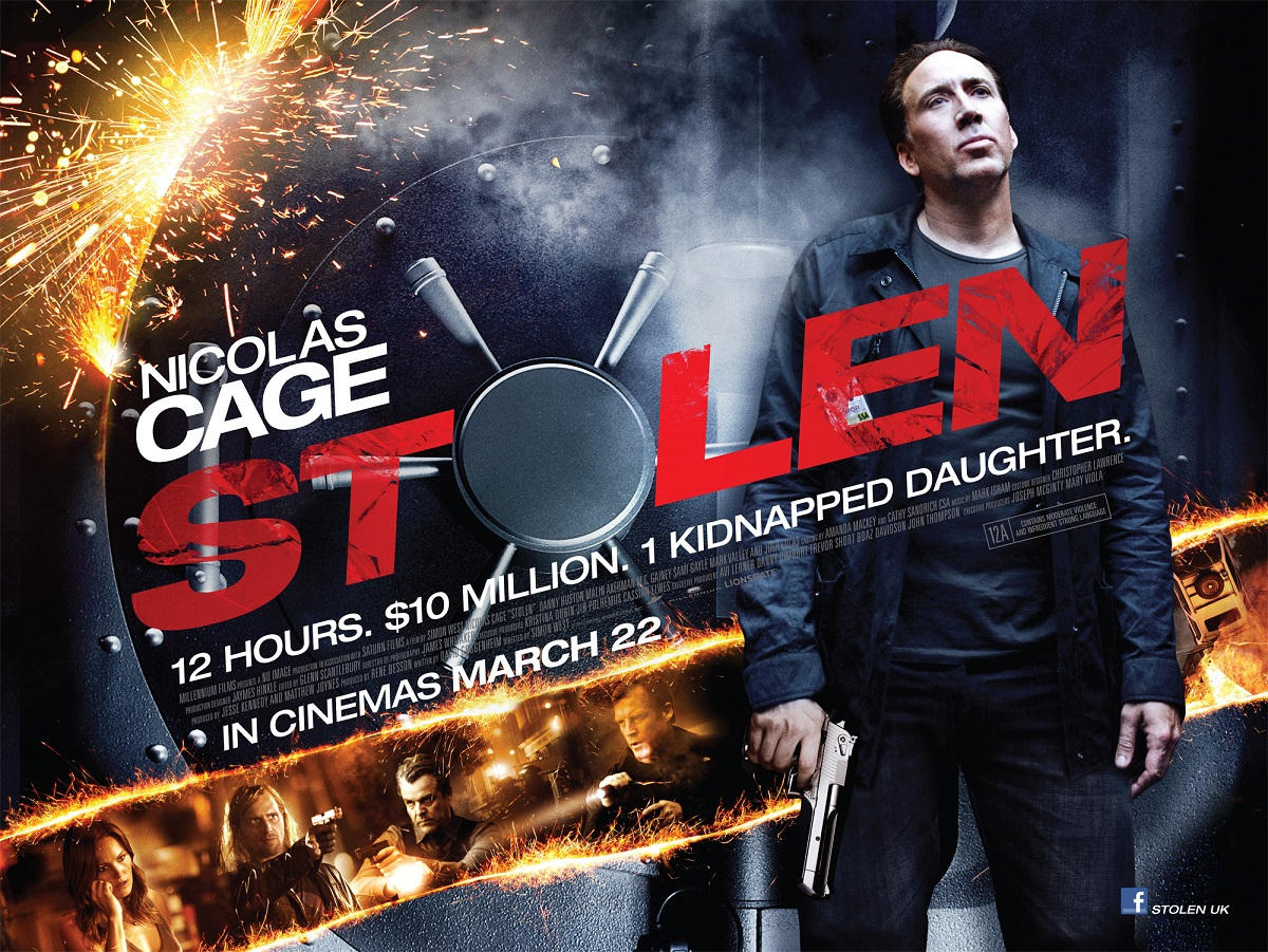 How To Fix Falling Wallpaper Dvd Review Nicolas Cage In Stolen Culture Fix