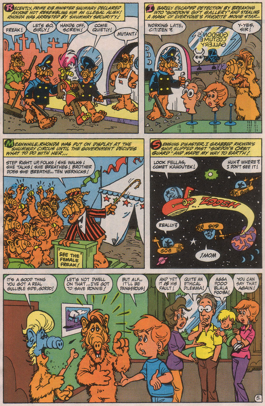 Read online ALF comic -  Issue #42 - 8