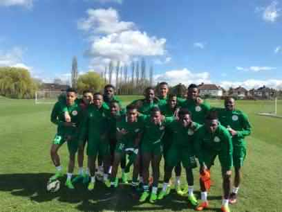New Super Eagles players sing and dance during initiation to team (Photos, Video)