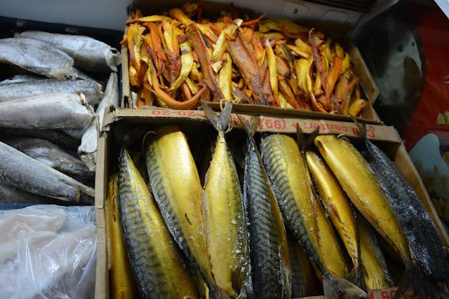 Dondurulmuş balık-Tacikistan