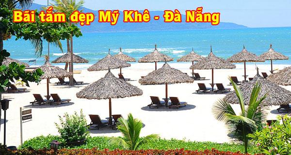 Bãi tắm biển tuyệt đẹp Mỹ Khê Đà Nẵng