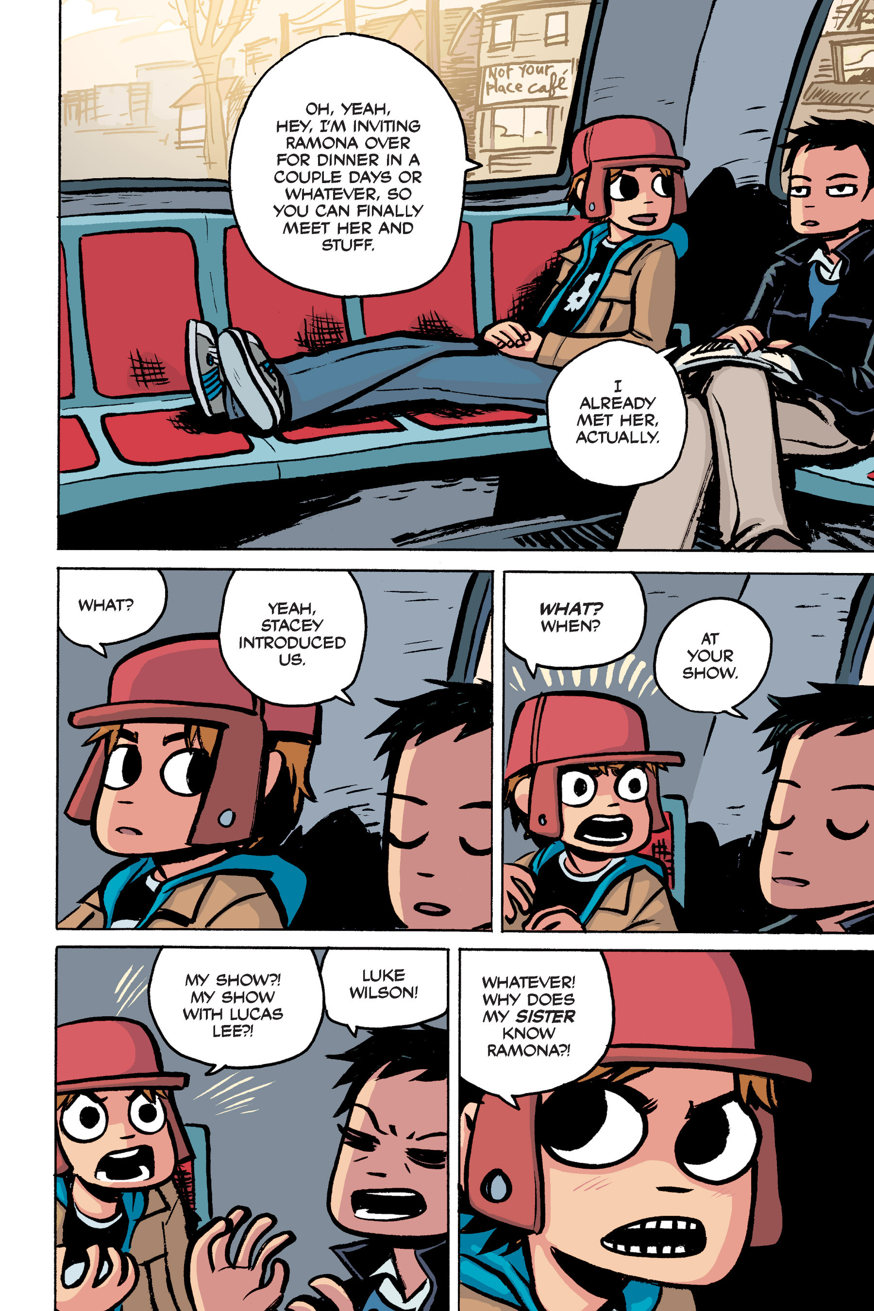 Read online Scott Pilgrim comic -  Issue #2 - 36