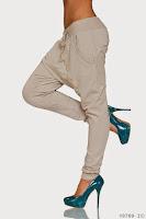 Pantaloni Dama Moderni Grey (newfashionromania)