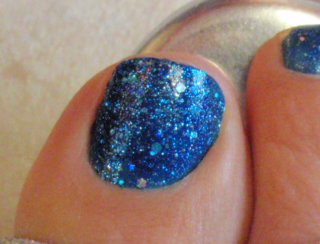 zoya Nori closeup on toe nail