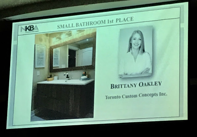 Toronto Custom Concepts Designer Brittany Oakley Award