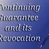 Continuing Guarantee and it's Revocation