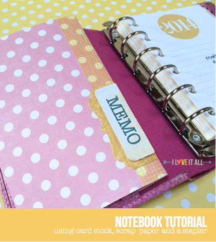 filofax friday notebook tutorial | iloveitallwithmonikawright.com