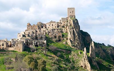 Craco Ghost Town Basilicata