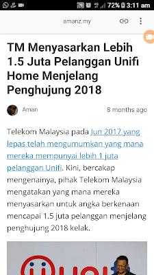 Kecewa Dengan Telekom Malaysia