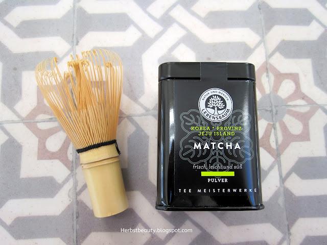 Matcha-Tee von Lebensbaum und Teebesen