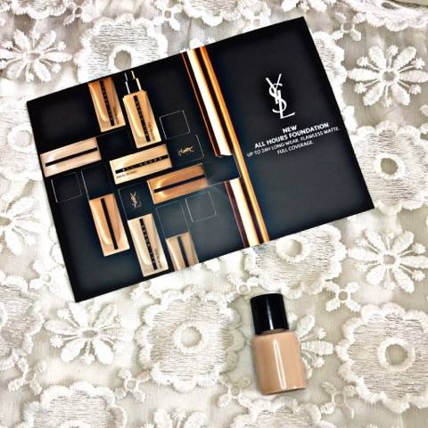 e70da62411c3f WEAR WITH ME | YSL ALL HOURS FULL COVERAGE MATTE LIQUID FOUNDATION REVIEW  WITH TIME STAMPS