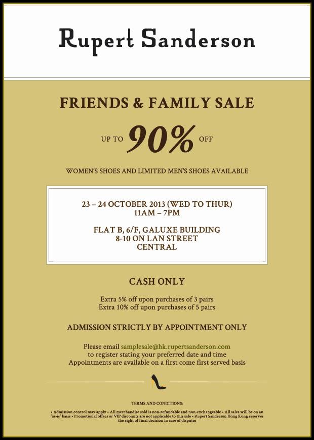 4b93d07a1 Hong Kong Fashion Geek  Rupert Sanderson Friends   Family Sale