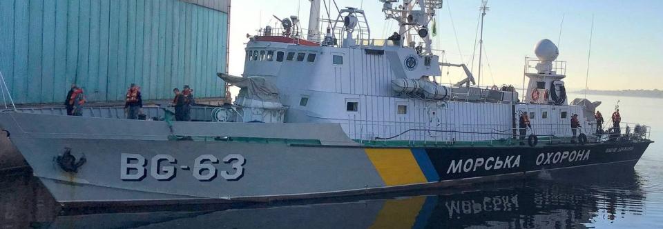 Розпочався ремонт корабля BG63 Павло Державін