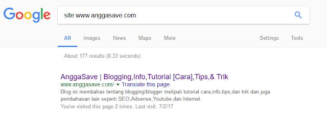 Mengetahui apakah artikel sudah terindex atau belum. Cek indexed artikel dan blog dengan mudah tanpa google webmaster tools