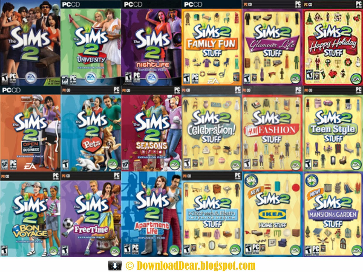 The Sims 2 Expansion Pack Stuff Pack Full