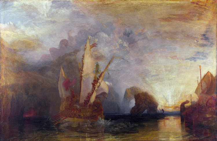 Joseph William Turner - Ulysses Deriding Polyphemus (1829)