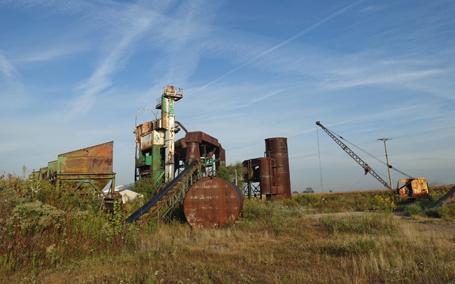 Abandoned Asphalt Plant in LaSalle Illinois