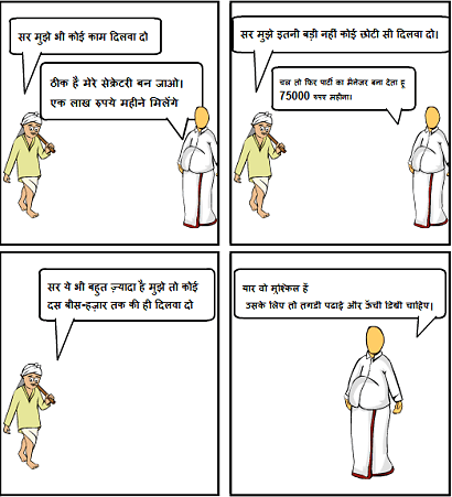 एक नेता और आम आदमी के बीच की वार्तालाप   !!