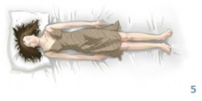 sleep pattern, sleeping positions