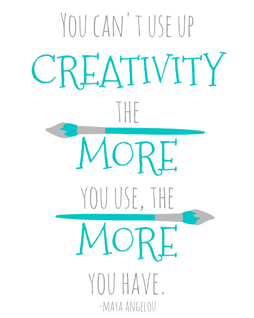 inspiring quote to help you be more creative