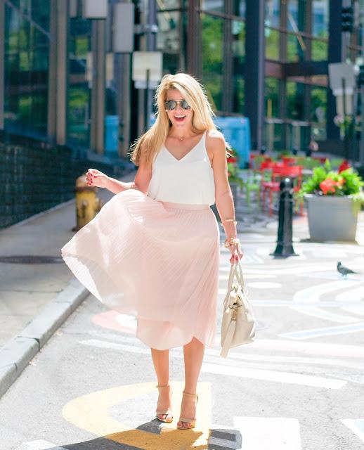nordstrom Chelsea28 Pleated Midi Skirt