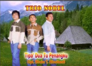 Lirik Lagu Toraja Tipa' Dua Tu Penangku (Trio Nobel)