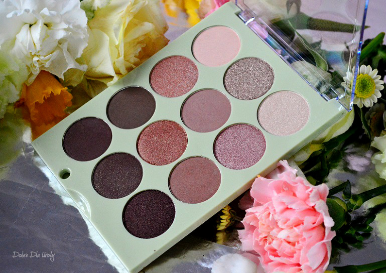 Pixi Eye Reflections Shadow Palette Natural Beauty recenzja