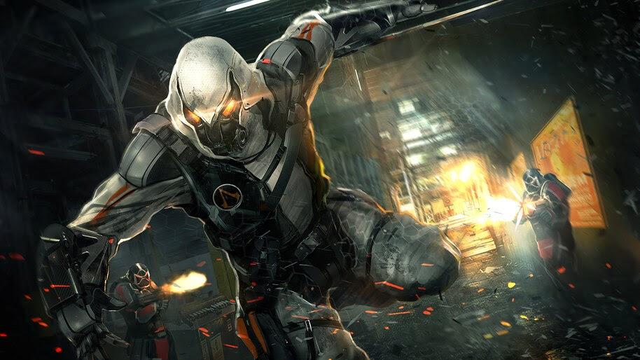 Sci-Fi, Cyberpunk, Warrior, 4K, #4.42