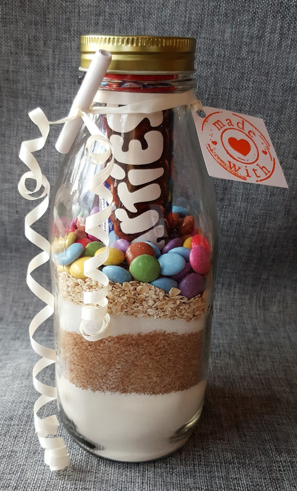 Bettys Kochlöffel Backmischung Im Glas Smarties Cookies