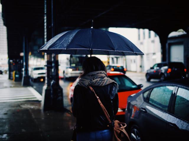 Pioggia  colloquio e perdita di tempo