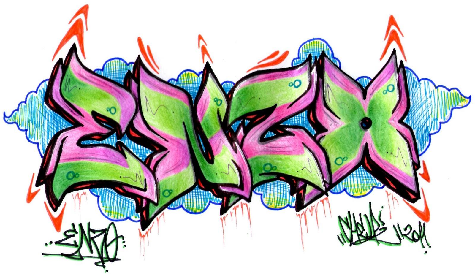 de graffiti chidas abecedario en graffiti arte con graffiti los